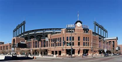 Image result for coors field